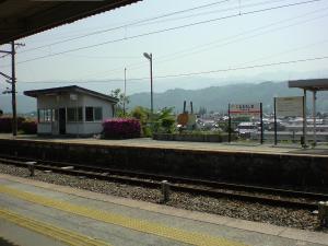 伊那大島駅休憩2