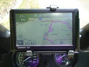 東側ルートGPS画面