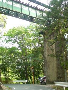 飯田線高架下