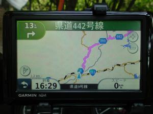 飯田線ナビ画面