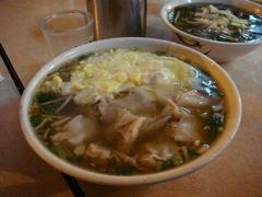 台湾 ワンタン麺