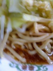 ラーメン二郎目黒麺091128