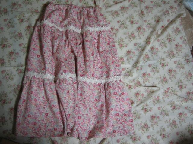 長女ロングスカート