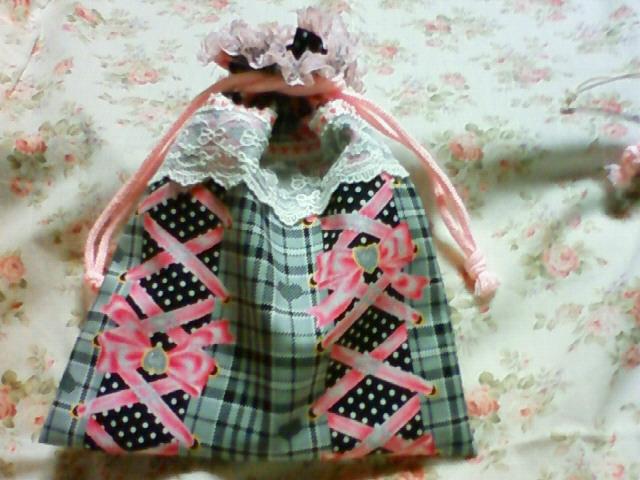 プレゼント用姫巾着