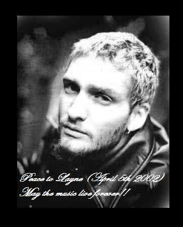 Alice In Chains レイン.白黒