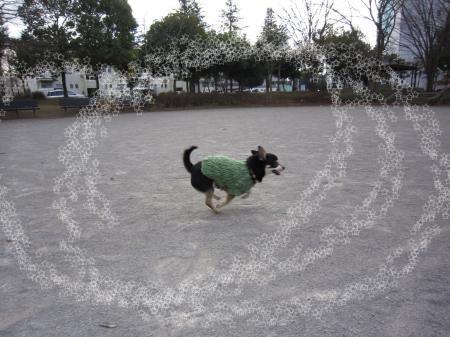 モコモコ手編みセーター3