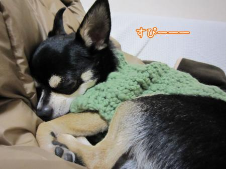 モコモコ手編みセーター7