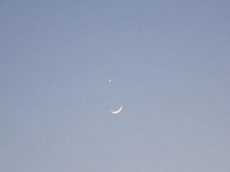 地球、月、そして金星2