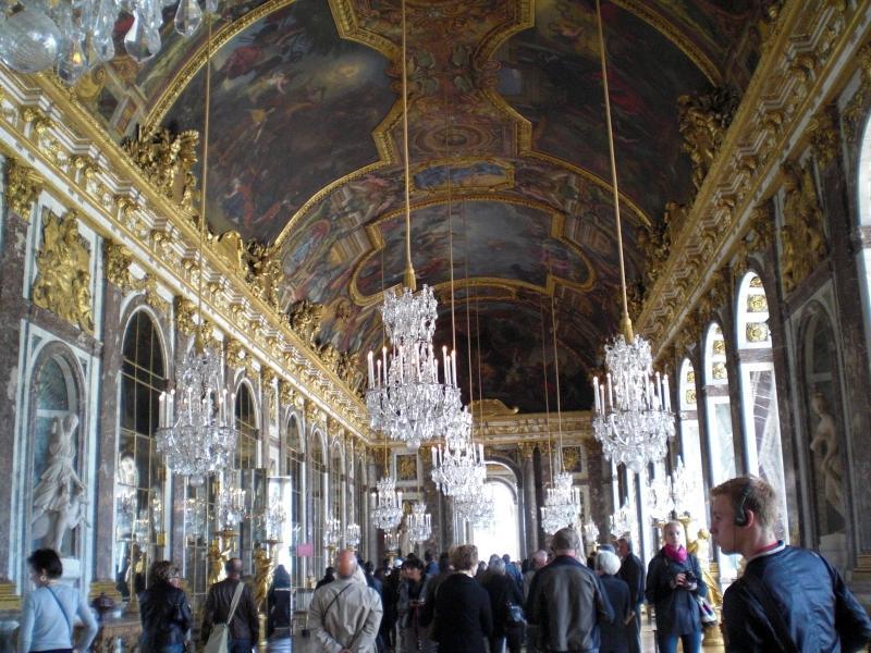 ベルサイユ、鏡の間縮小