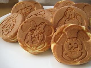 ミッキーちゃんホットケーキ