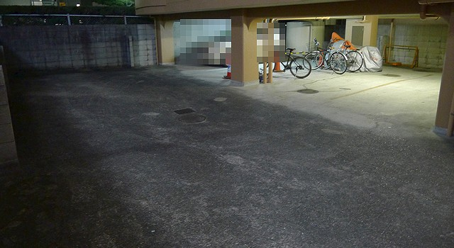 エーテル駐車場02