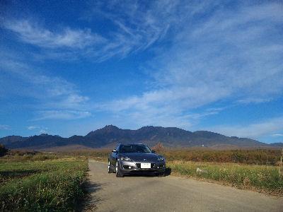 RX-8と八ヶ岳山麓