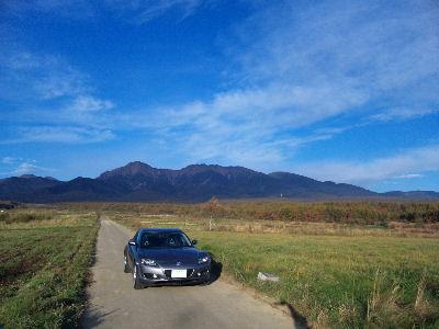SE3Pと八ヶ岳山麓