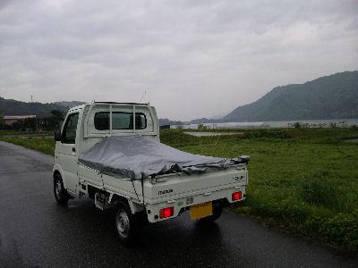 木崎湖とスクラム