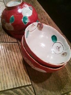 瀬戸焼き赤椀