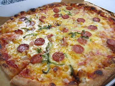 美味しかったピザ!!