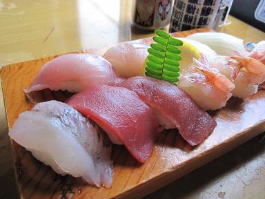 どどーんっとお寿司!