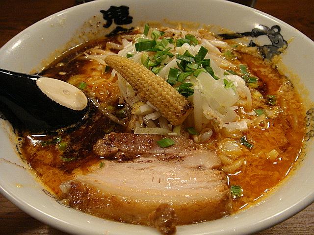 「カラシビ味噌らー麺」@鬼金棒
