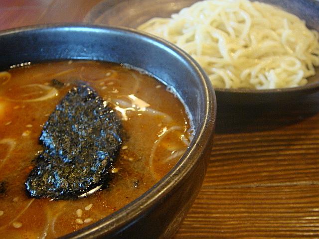 江戸甘味噌つけ麺@志こつ