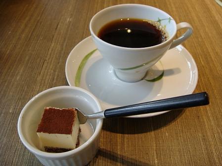 コーヒーとデザート@天壇