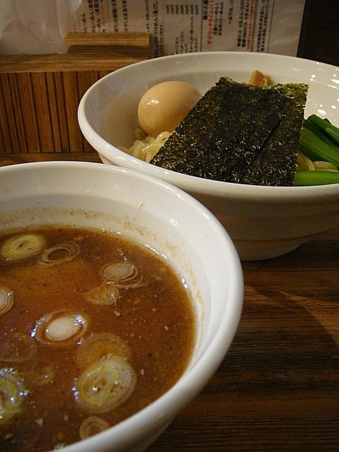 味玉つけ麺@HANABI