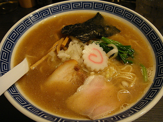黄金中華そば@麺やポツリ