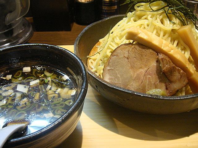 醤油つけ麺@めじろ