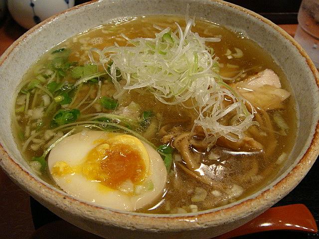 煮干鶏そば(限定20食)@大喜