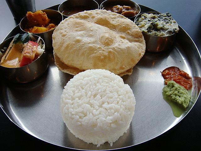平日ランチミールス@南インド料理ダルマサーガラ