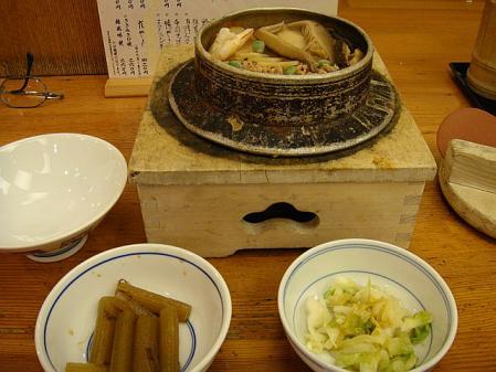五目釜飯セット@鳥ぎん本店