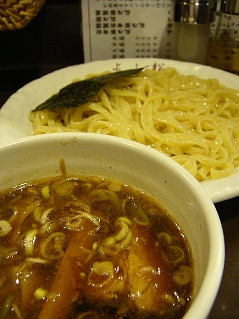 和風つけ麺(中盛)@よし松