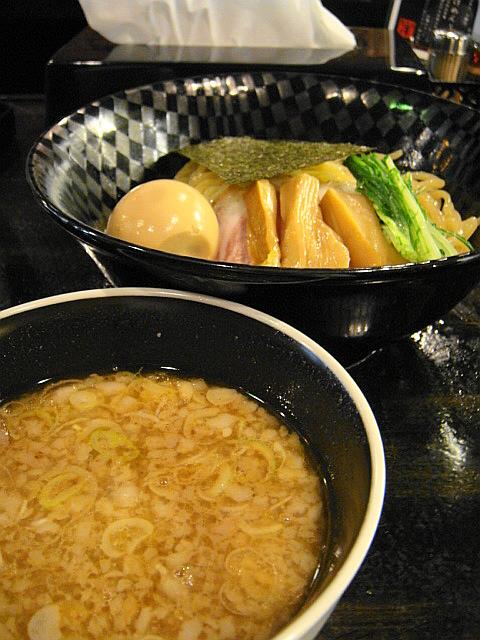 醤油つけ麺味玉入り@麺喰屋 澤