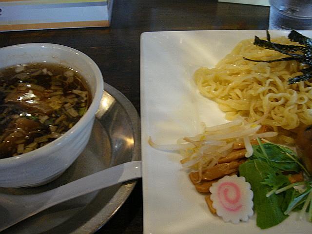 くんたまつけ麺(塩味)@麺屋 卓朗商店
