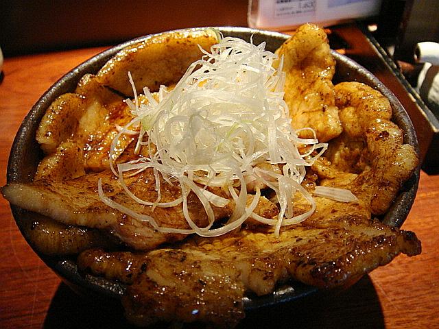 本格帯広豚丼(並)ミックス@豚っく