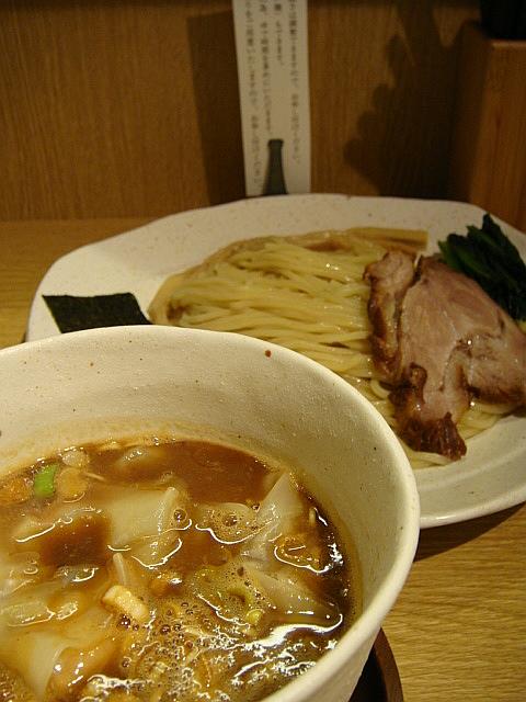 わんたんつけ麺@麺屋 ぬかじ