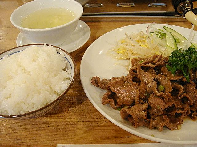 牛タン定食@凛