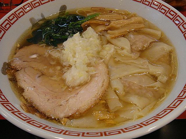 塩ワンタン麺@田島家