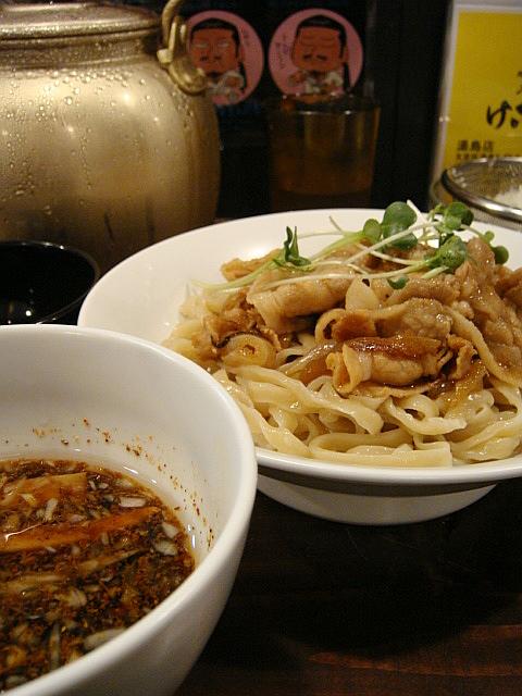 肉盛りつけ麺@六代目けいすけ