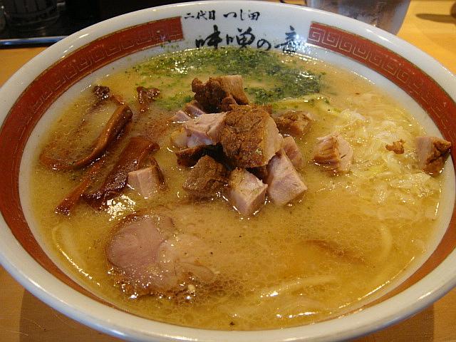 味噌ラーメン@二代目つじ田 味噌の章