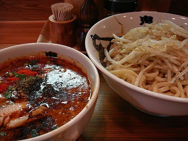 もやしカラシビつけ麺(並盛)@鬼金棒