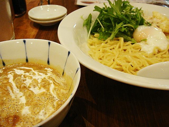 小海老のカレーつけ麺@虎杖 裏店