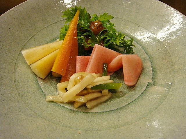 和の盛り合わせ@Natural Style Noodle 玄菜院