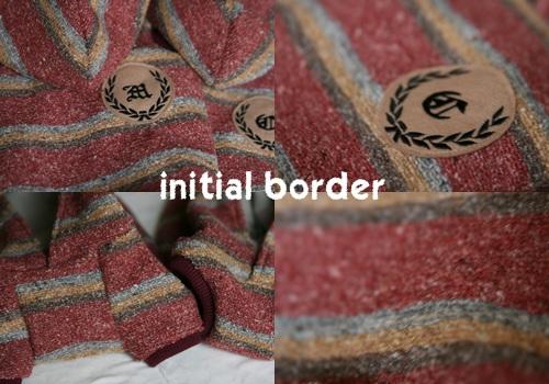 initial border