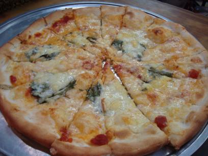 13 青じそピザ