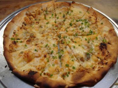 19 味噌ピザ