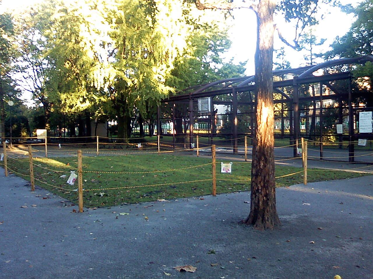 10月27日の中庭