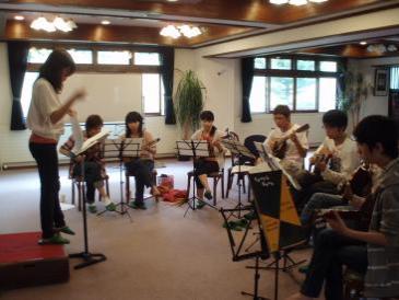 2010年夏合宿1年生演奏