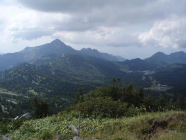 2010年夏合宿山