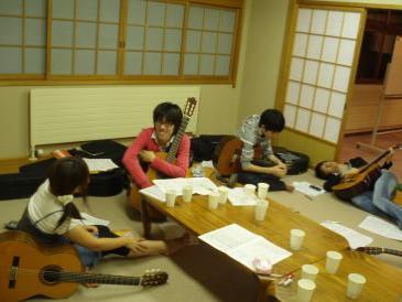 2010年夏合宿ギタパ