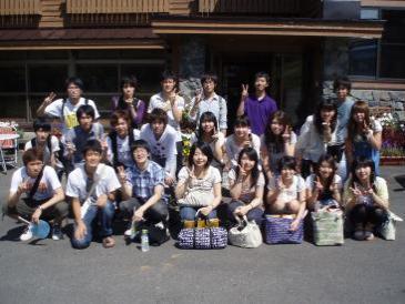2010年夏合宿集合写真